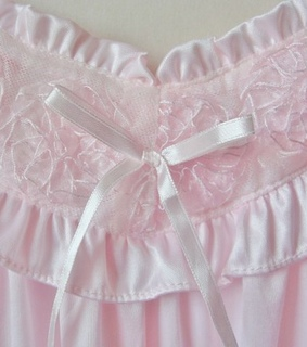 lace, pure and baby pink