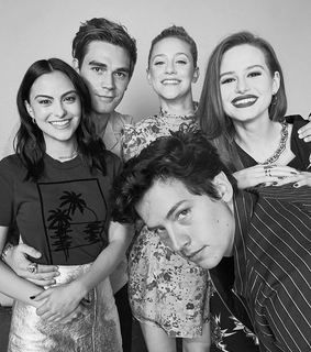 madelaine petsch, cole sprouse and kj apa