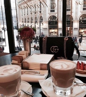 coffee, breakfast and drinks