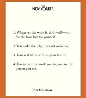 toni morrison, words and wise