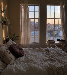 cozy, window and inspo