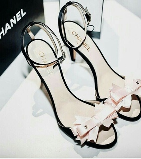 chanel, pastel and high heels