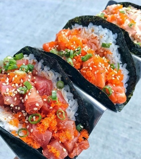 healty, delicious and salmon