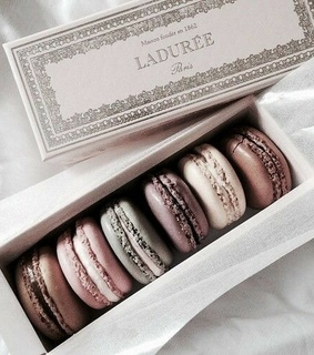 colors, macaroons and food