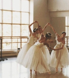 white, ballerinas and picture