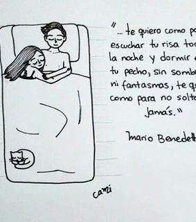 amor, frase and benedetti