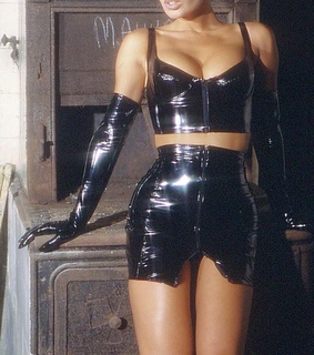 grunge, lonely and latex