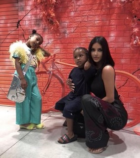 kim kardashian style, fashion and north west