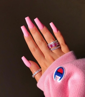pink nails, Hot and style