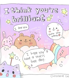 positive quotes, kawaii and positive