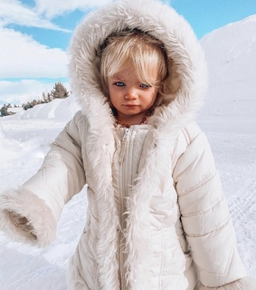 cute, girl and winter