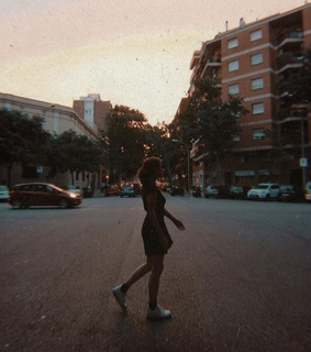 photography, girl and city
