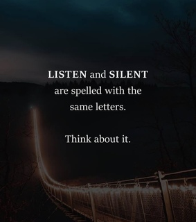 silent, quotes and citat