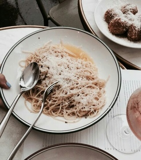 pasta, italy and yes