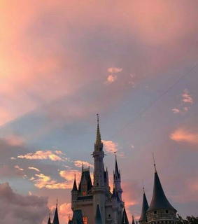 disney, background and pink