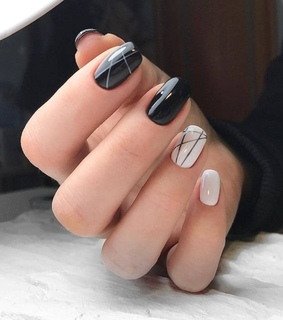 manicure, design and nail art