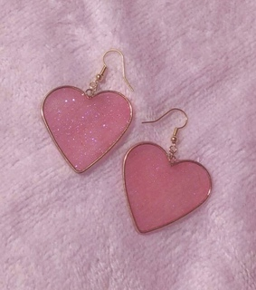 earring, heart and accessory