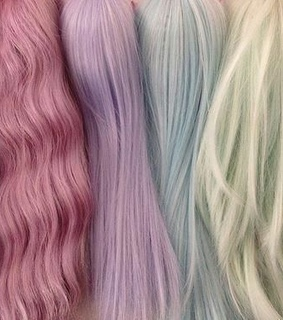 alternative, wig and colors