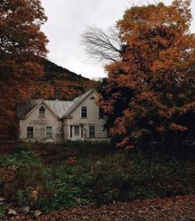 home, abandoned and fall