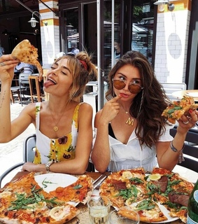 style, bf and pizza