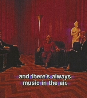 love, aesthetic and Twin Peaks