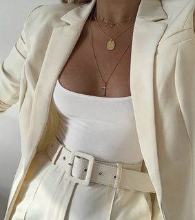 blazer, colour and gold