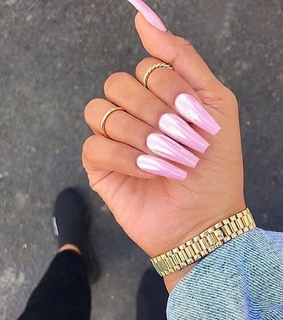 simple, shiny and pretty