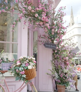 london, flowers and spring