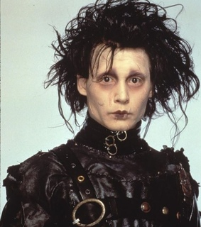 edward scissorhands, iconic and aesthetic