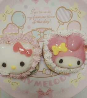 cake, sanrio and sweet