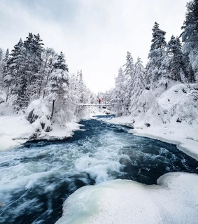 amazing, lapland and water