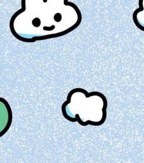 cloud, animals and frog
