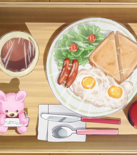 anime, english and breakfast