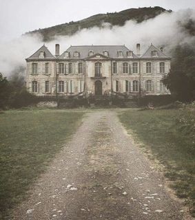 architecture, pale and abandoned