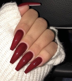 unghie, red and nail