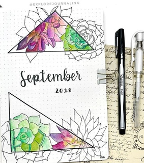 art, September and draw