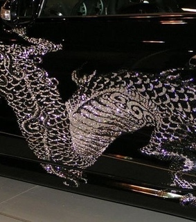 glitter, luxury and car