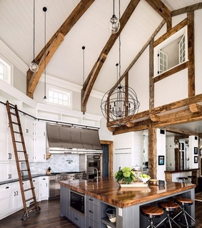 kitchen, style and house