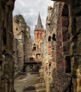 travel, church and castle