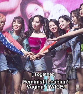 lgbt, twice reactions and twice