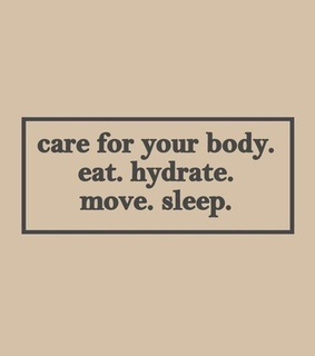 motivation, words and self care