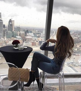 model, girly and city