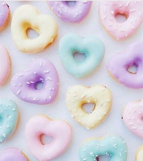 donuts, pastels and pastel