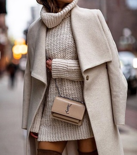winter, coat and fall