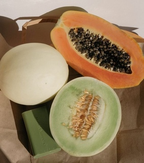 healthy, melons and summer