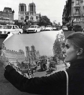 1970s, map and paris