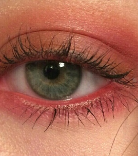 pink, rose and green eyes