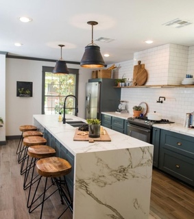 design, kitchen and house