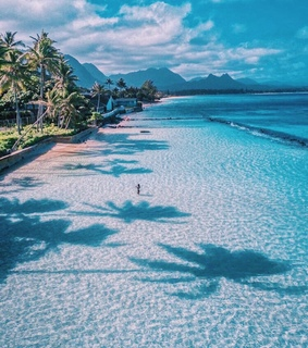 paradise, traveling and holiday