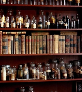 books, old ways and apothecary